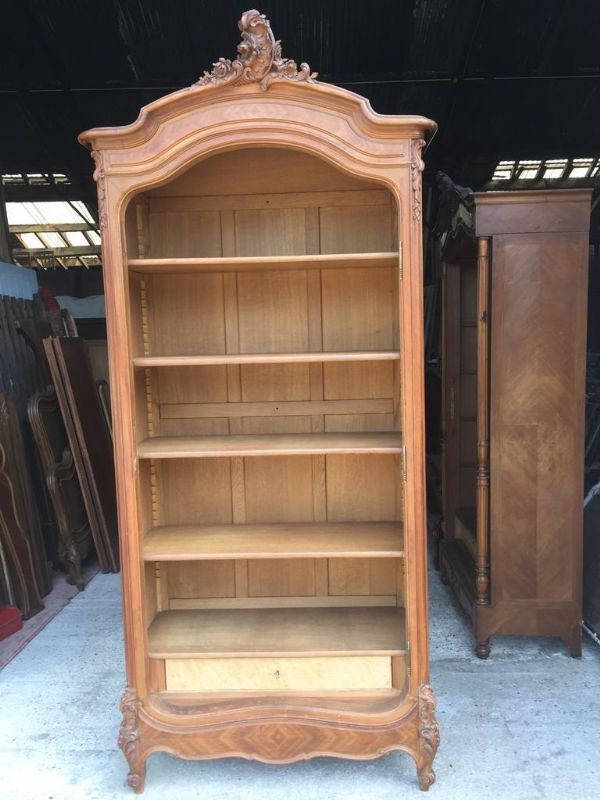 Impressive Antique French Armoire / Wardrobe - b102